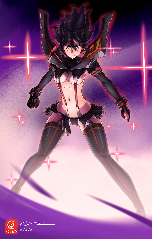 Matoi Ryuko Kill La Kill Fanart On Behance
