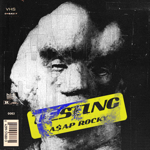 ASAP ROCKY - TESTING COVER ARTWORK on Behance