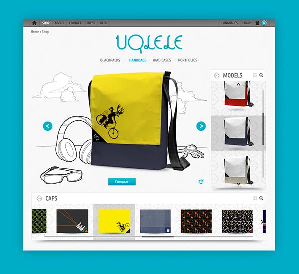 Uqlele Website