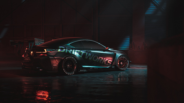 DRIFTWORKS Lexus RC-F   UE4   RTX