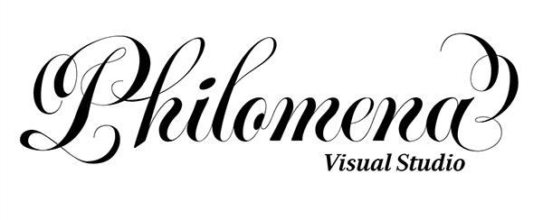 Philomena visual studio logo on behance