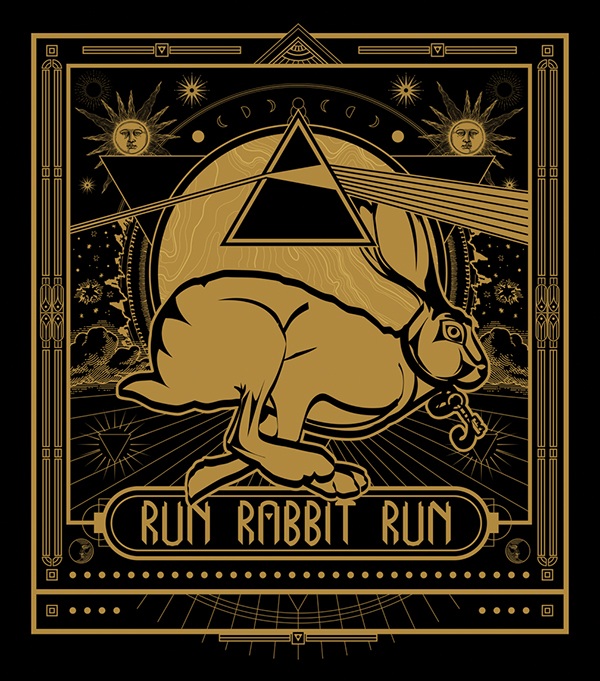 Image result for pink floyd run rabbit run""