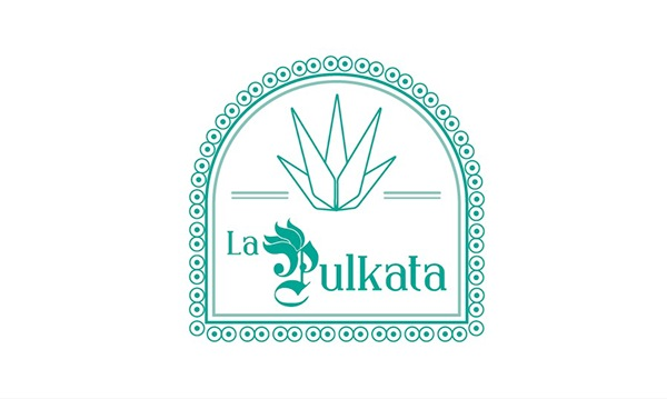 pulqueria pulque Pulkata mexico poster cartel aniversário VI 6 anos Guadalajara logo brand marca pulquimia tipografia