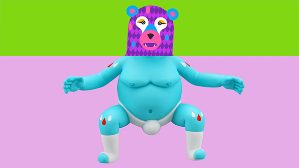 video clip channel 4 tv music video motion design art Character 3d animation Channel DANCE   modeling rigging