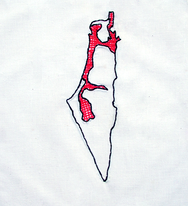 palestine sewing Embroidery politic