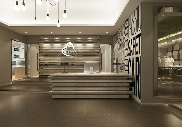 Being human corporate office mumbai on behance for Commercial interior design firms the list