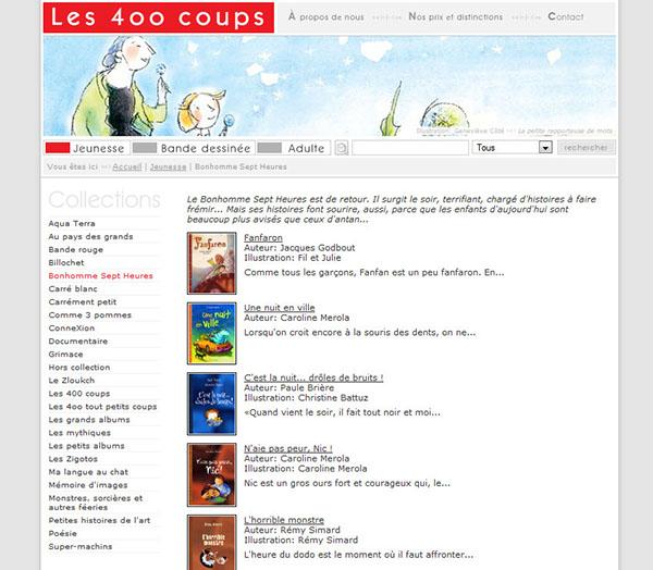 Éditions 400 coups albums jeunesse bande dessinée livres