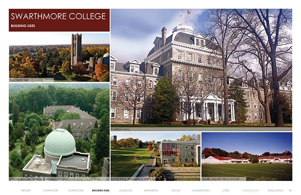 swarthmore college  campus master planing on philau portfolios
