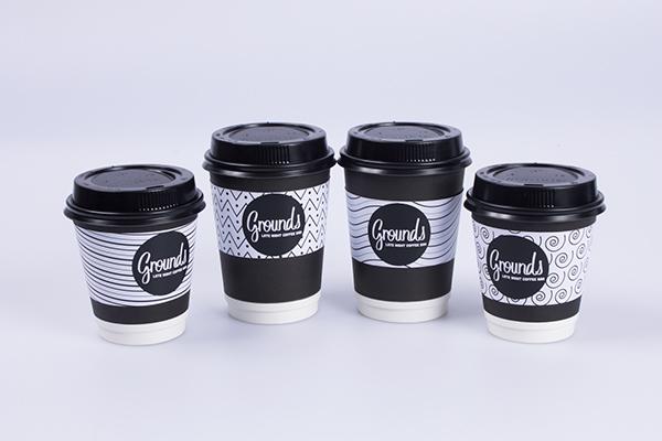 Grounds Late Night Coffee Bar On Behance