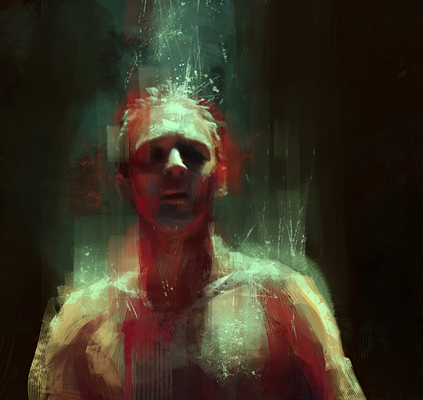 digital painitng Fan Art fanart True Detective  Coriolanus Star Trek the Hobbit