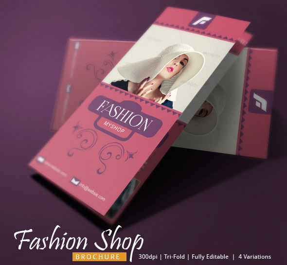 Fashion Tri Fold Brochure Template On Behance