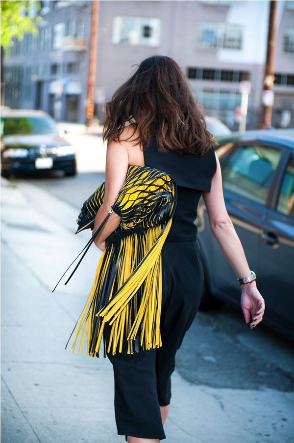 The Fashion Adroit - Blog Post: Celine Fringed Bag on Behance