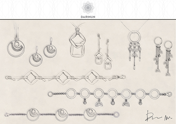 Jewellery Design U0026 Hand Drawn Sketches On Behance