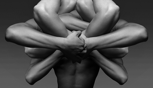 man masculine arm men strength body muscle