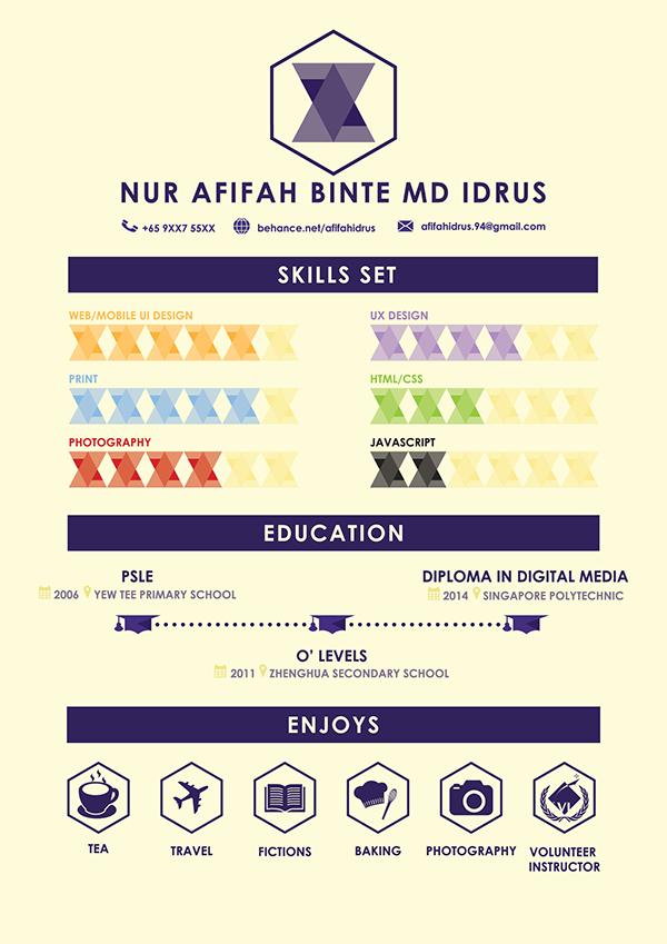 identity branding  infographic resume  u0026 namecards on behance