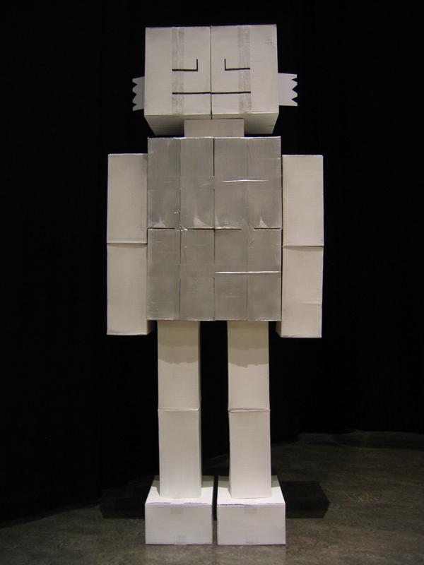 Pictures of Cardboard Robots Cardboard Robots on Behance