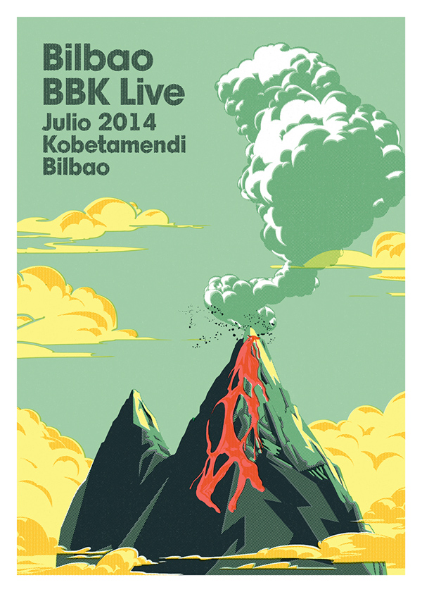 Bbk Live 2006 Bbk Live Poster on Behance