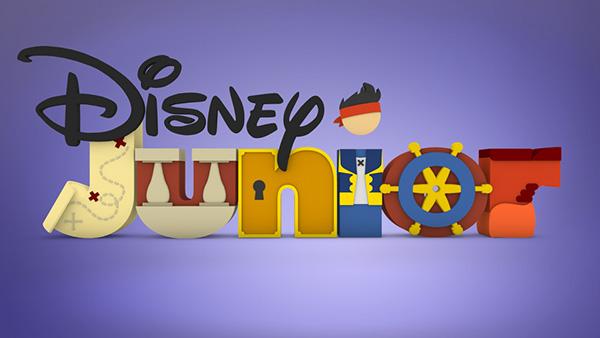 Disney junior on behance for Aeiou el jardin de clarilu