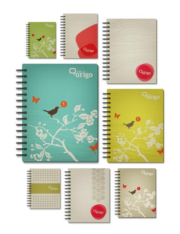 精細的23個筆記本封面設計欣賞