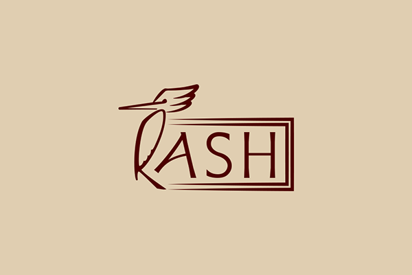 RASH WOOD LOGO on Behance