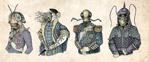 Character Design History : Invertebrates in history on character design served