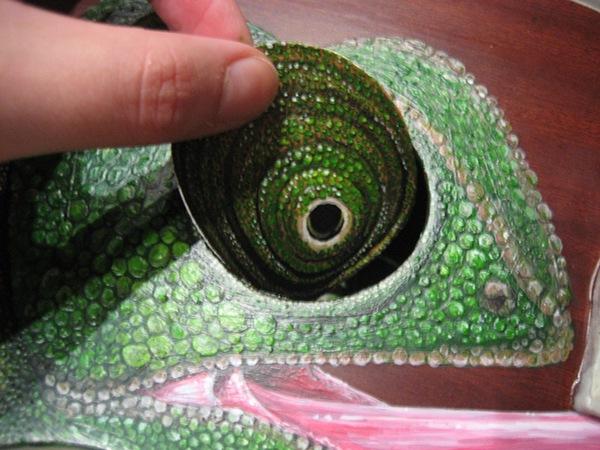 chameleon Ukulele ukelele
