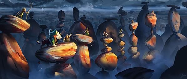 The Croods a New Age Visual Development