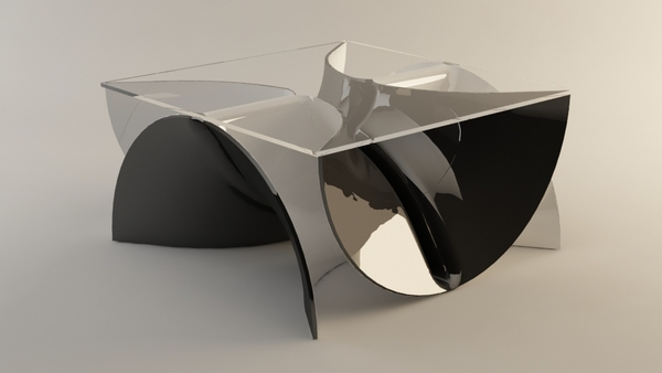 Infinity Coffee Table On Behance