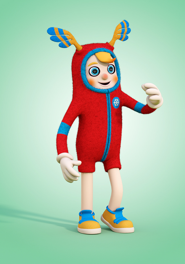3d Character Design Behance : D character design on behance