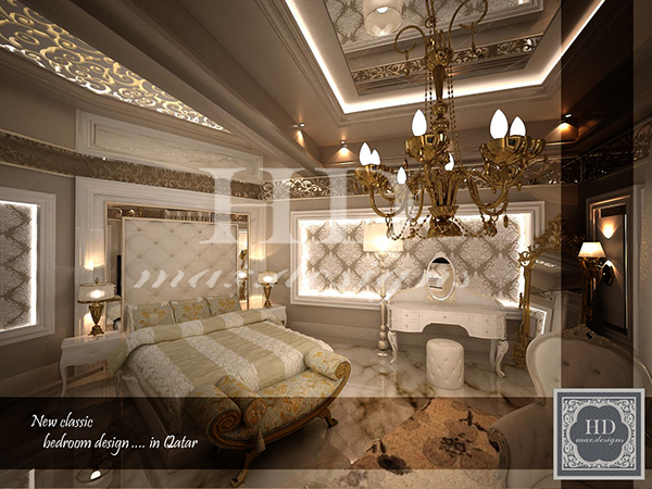 New classic bedroom on behance for New classic interior