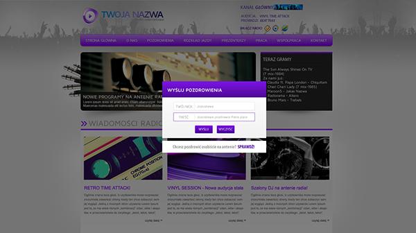 webradio Web Radio radio internetowe spmusic.pl