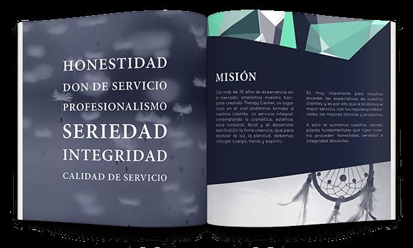therapy,center,esthetic,Spa,medical,geometric,logo,Health,clean,blue,gem,aesthetics,uruguay,stationary,brochure