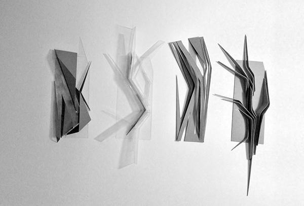 Conceptual models on behance for Movement architecture concept