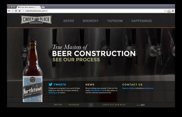 Cinderblock Brewery