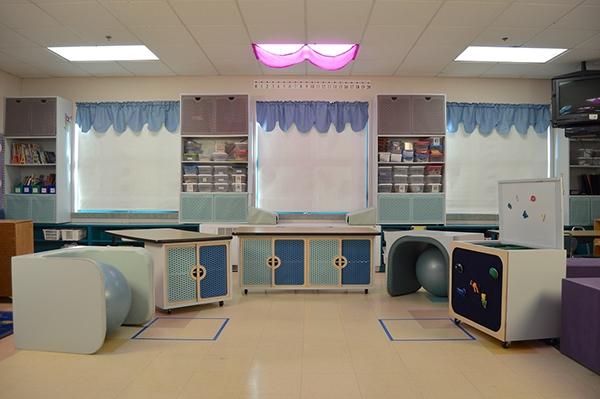 Classroom Redesign ~ Autism classroom redesign on risd portfolios