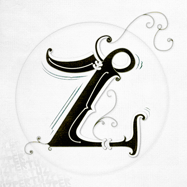 Z Lettering On Behance