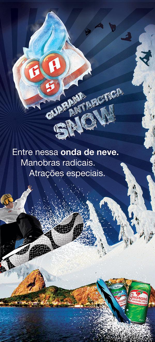 Gas Snow