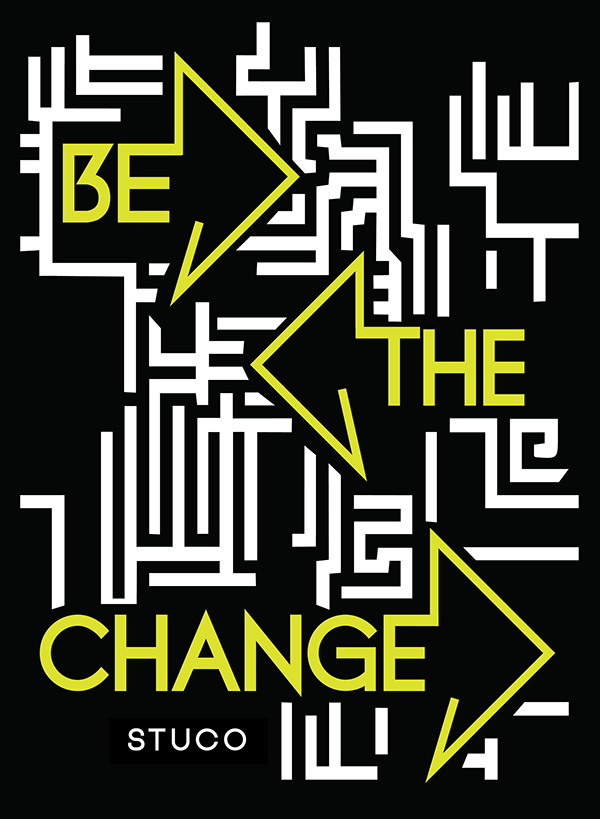 be the change on behance