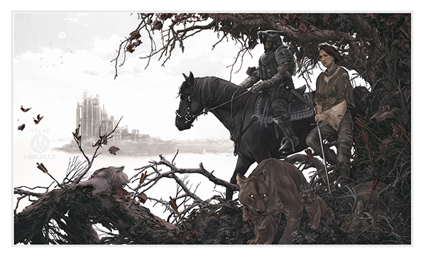 The Hound and the Wolf by AJ Frena