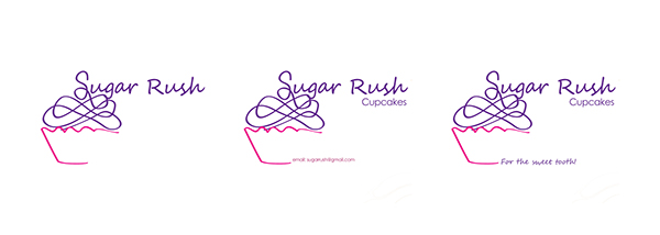 Sugar rush business card on student show sugar rush business card colourmoves