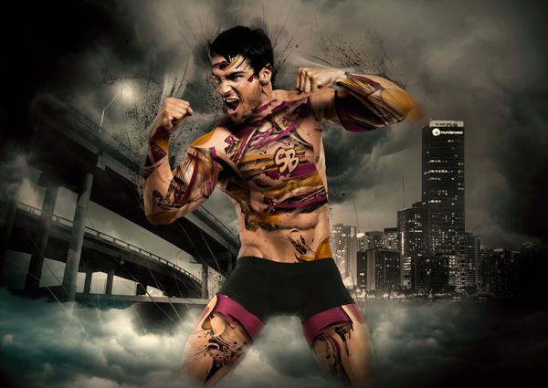 superbum rounderwear underwear sexy male muscle model boy guy macho Hero SuperHero yhea