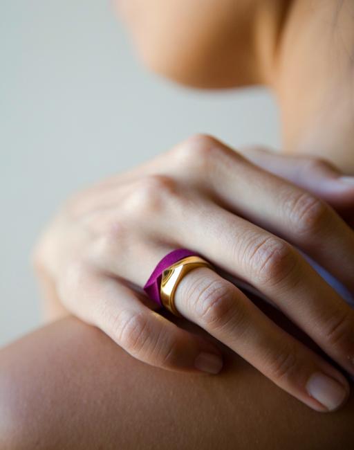 jewelry cad SLS nylon gold vermeil silver designer simple modern
