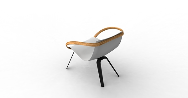 Contemporary classics updating alvar aalto on behance for Alvar aalto chaise lounge