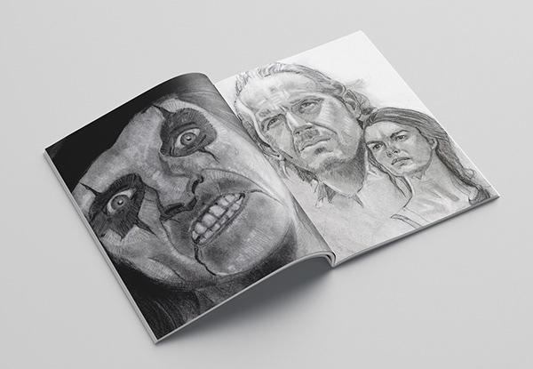Hand drawn 5