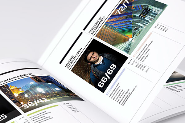artworks magazine journal book coffee table scott belsky infographics data visualisation buildings type print art brand strategy contemporary