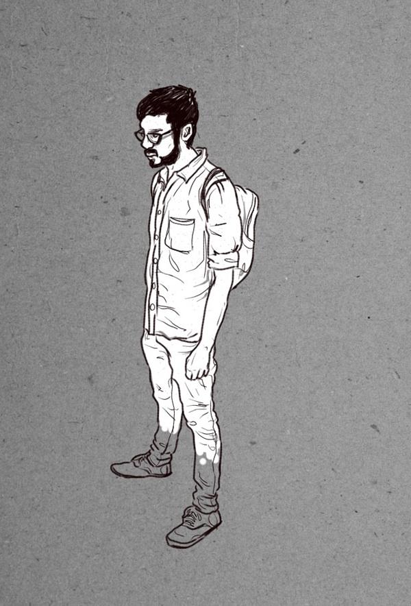 portraits people figure drawings