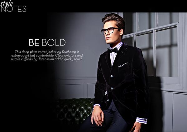 Mens Evening Wear Advertorial On Behance