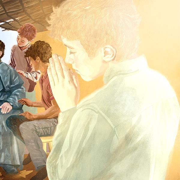 """Ilustração para conto """"Um Milagre e uma Promessa"""""""