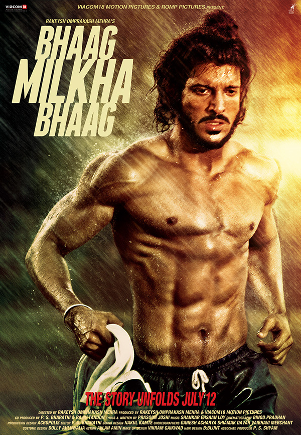 Image result for bhaag milkha bhaag poster