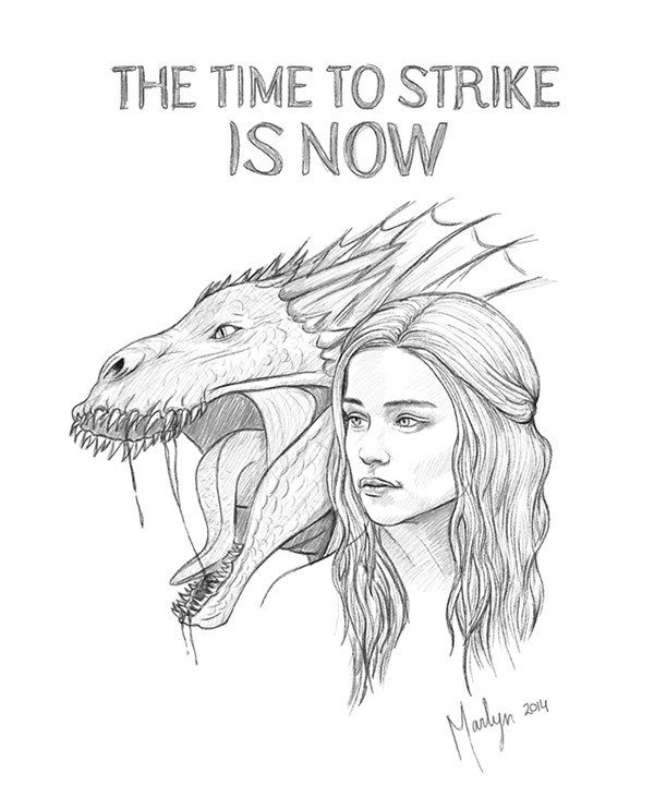 game of thrones drawings  illustrations on behance
